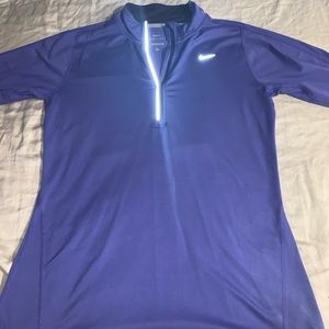 Women's NIKE dri fit half zip